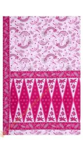 Sarung Motif Udang Tumpal Nuansa Pink