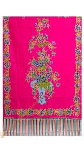 Gendongan Bayi Bahan Katun Motif Pot Bunga Pink