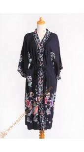 Kimono Pendek Bahan Shantung Dasar Item