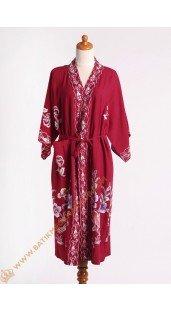 Batik mega unik kimono pendek