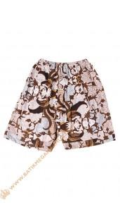 Batik unik celana pendek